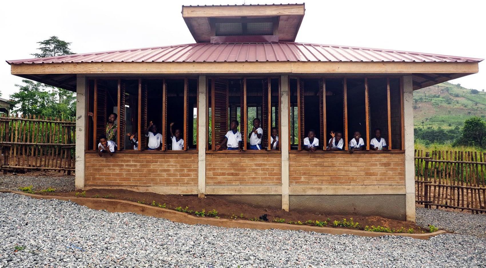 WEbuilding - classroom in the Darmang school