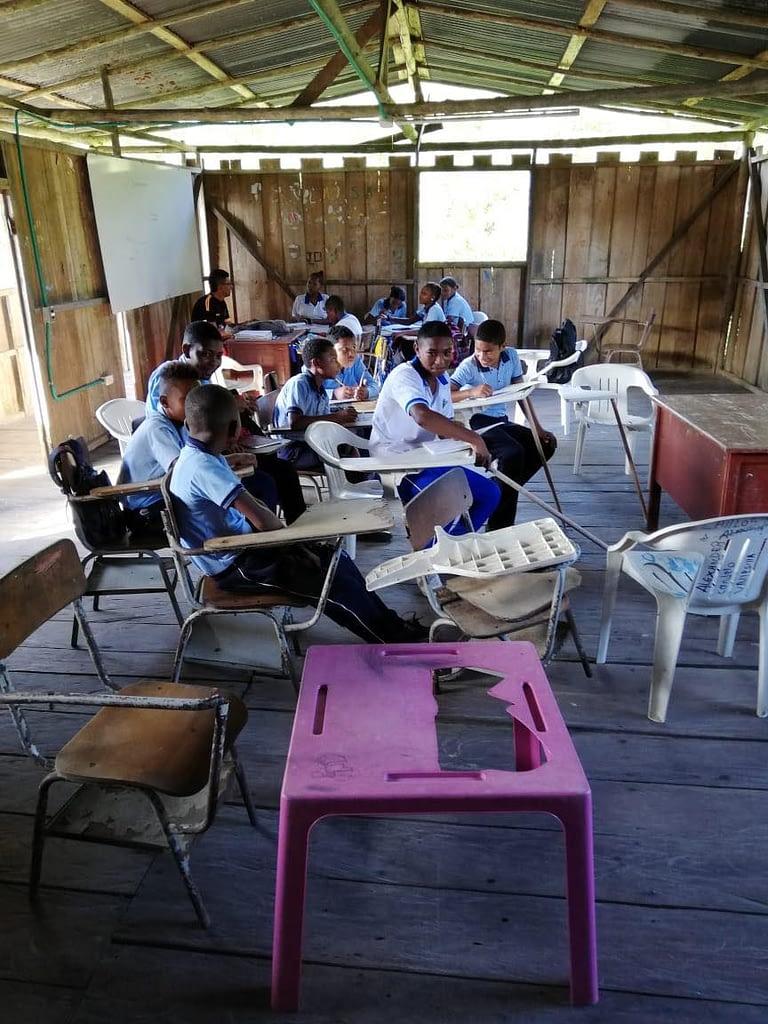 classroom in La Ensenada Centro Educativo
